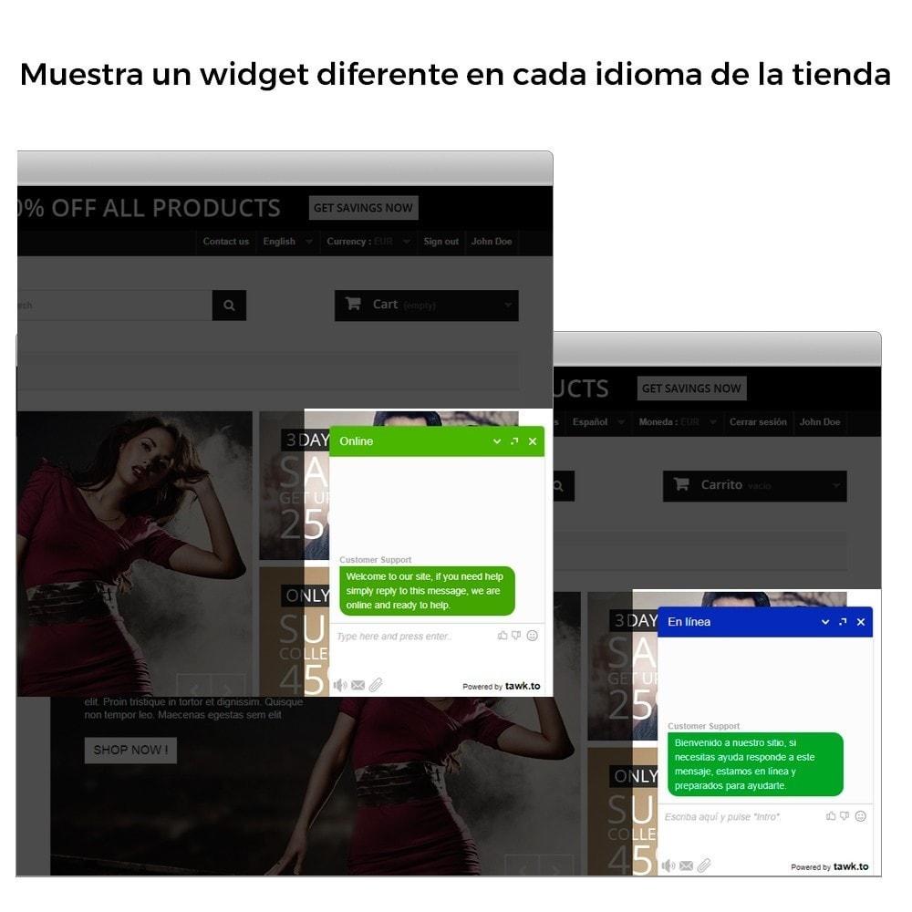 module - Asistencia & Chat online - Tawk.to - Chat integrado en tiempo real - 4