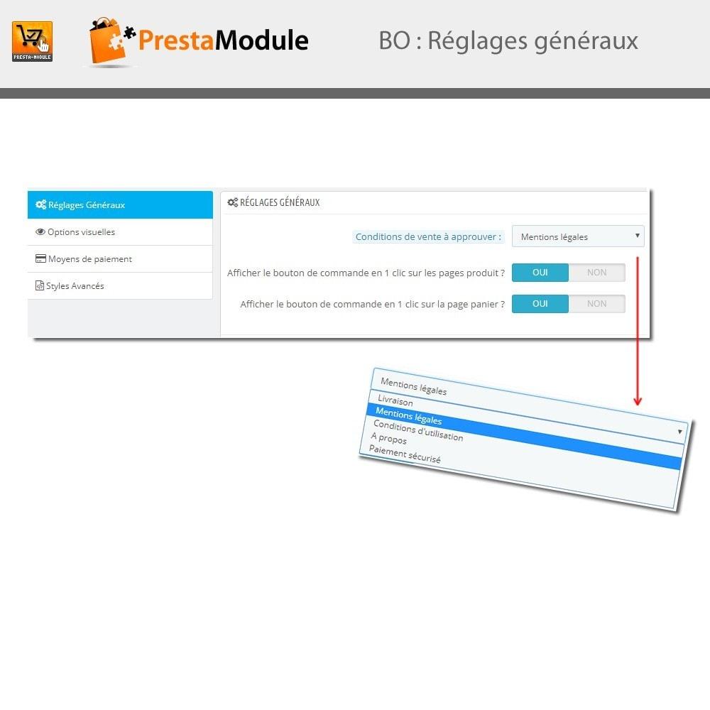 module - Paiement par Carte ou Wallet - One Click Order - Achat en un clic - 4