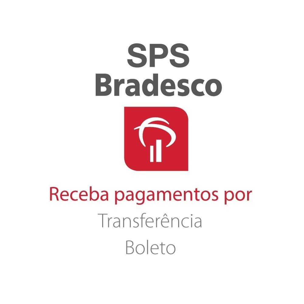 module - Pagamento por cartão ou por carteira - SPS Bradesco - 1