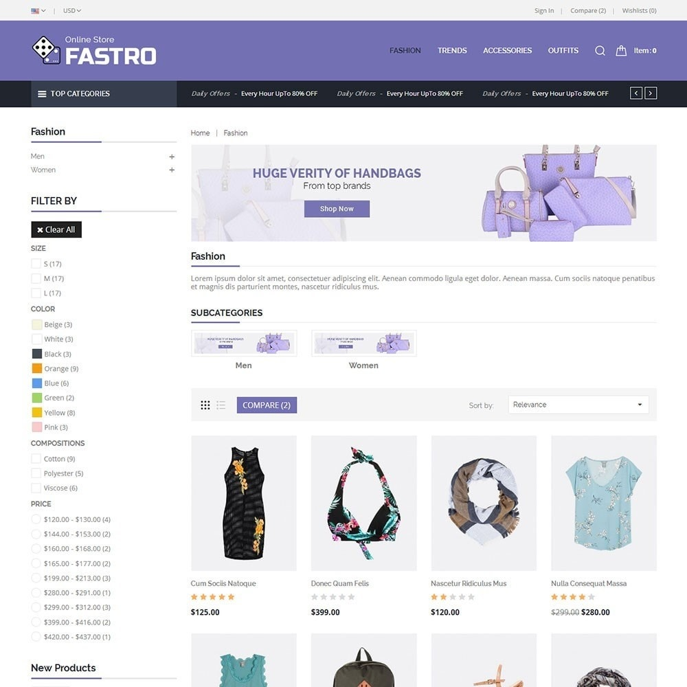 theme - Fashion & Shoes - Fastro Fashion Store - 3