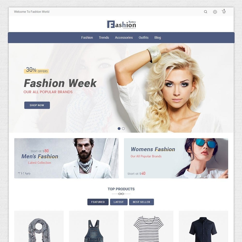 theme - Mode & Chaussures - Ramcy Fashion Store - 2