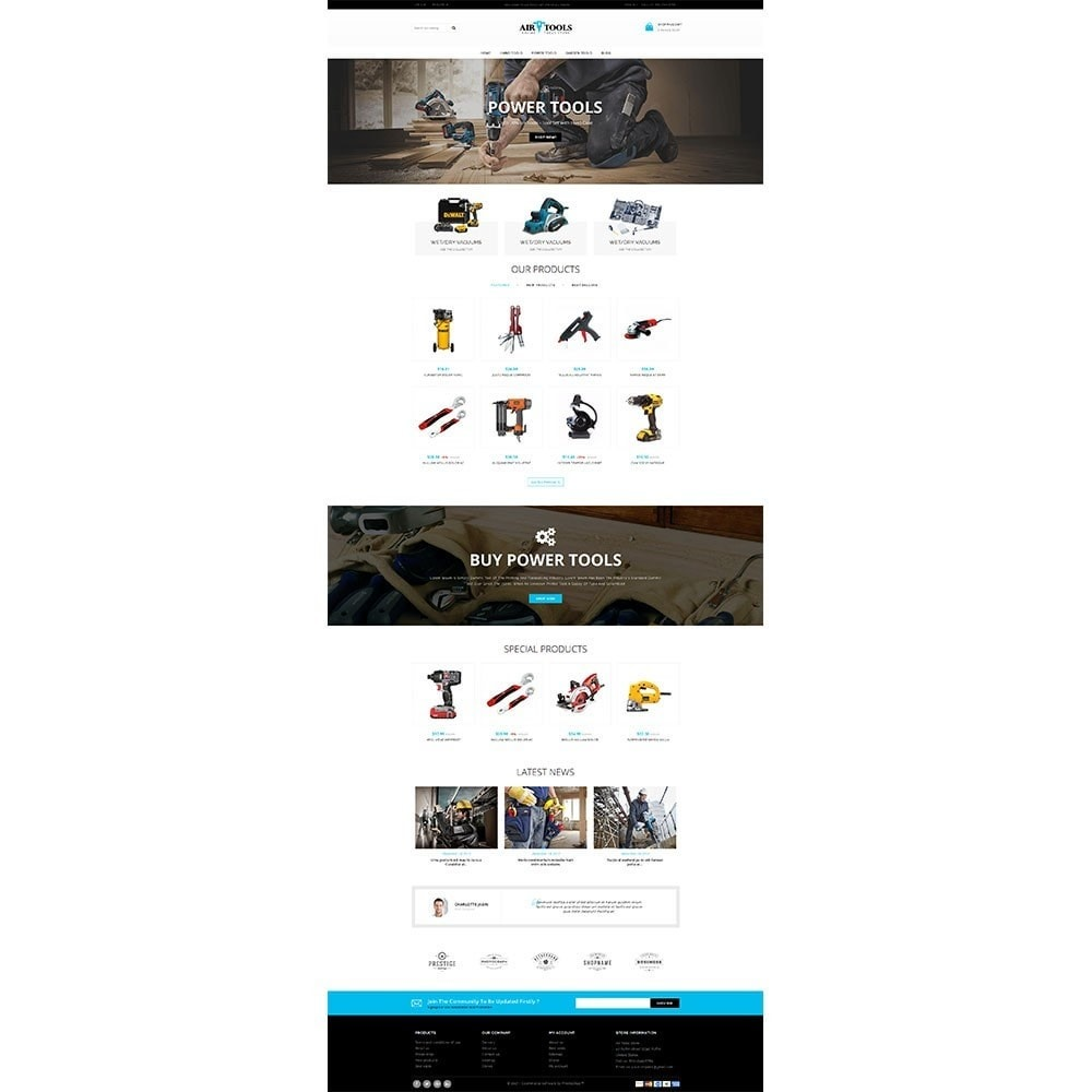 Air Tools Store V2