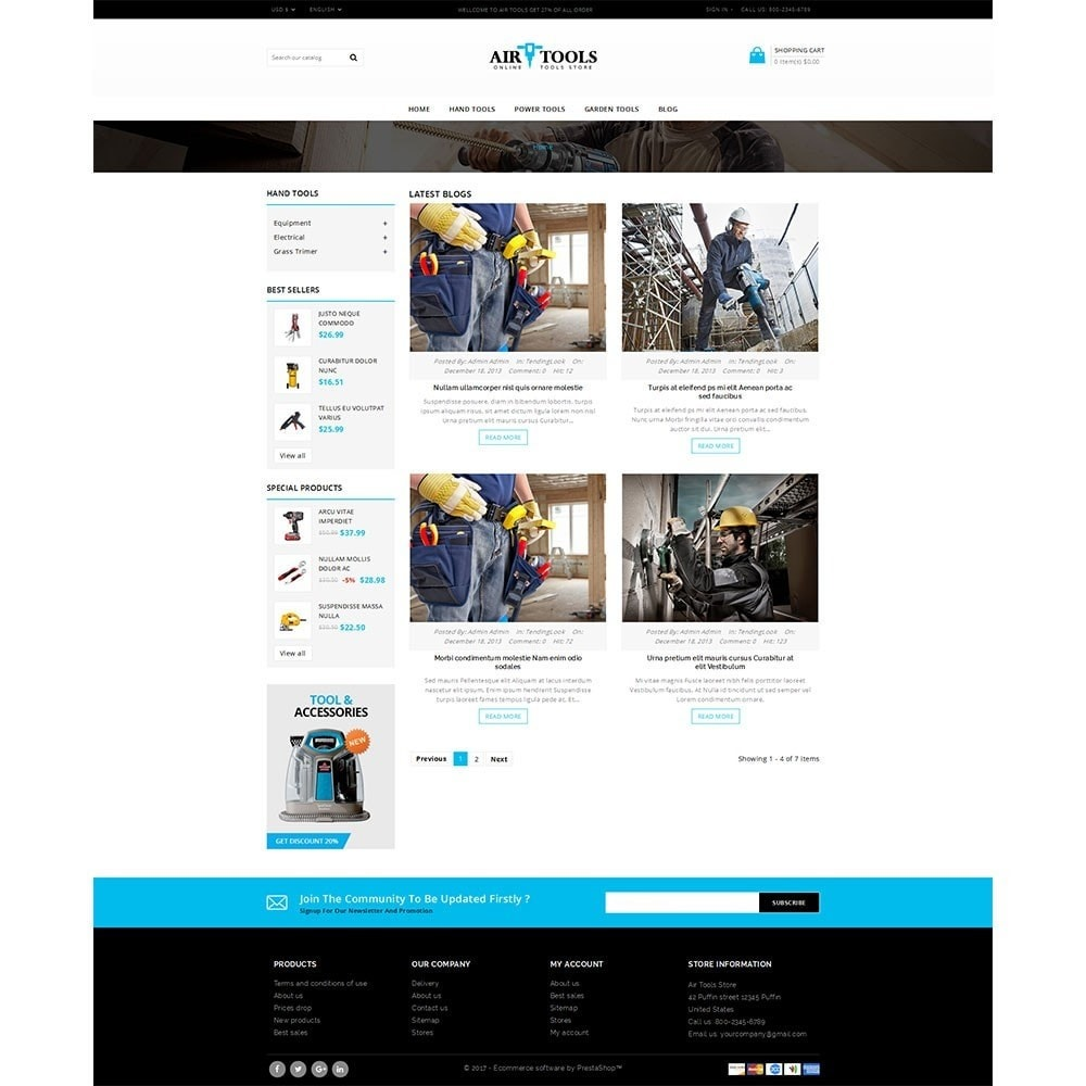 theme - Auto & Moto - Air Tools Store V2 - 8