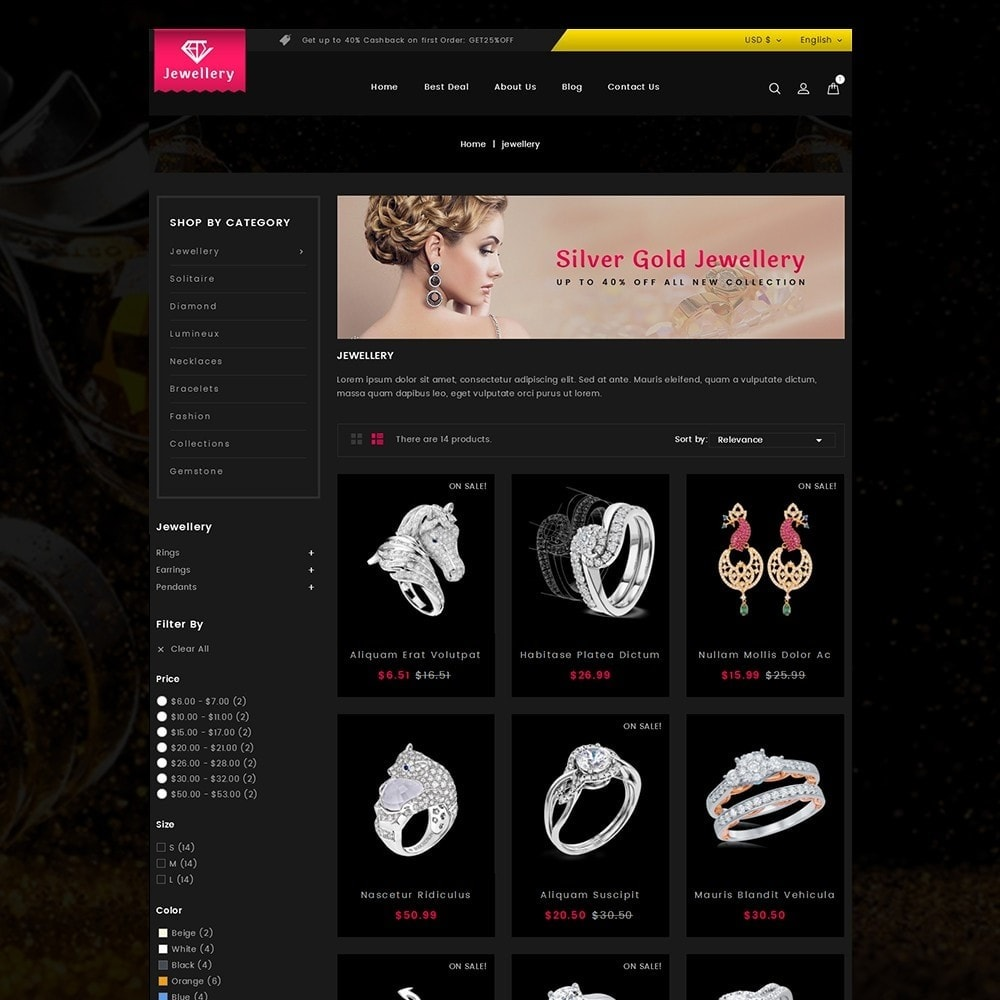 theme - Jewelry & Accessories - Jewellery Store - 3