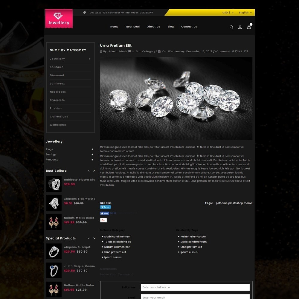 theme - Joalheria & Acessórios - Jewelry Online Store - 6