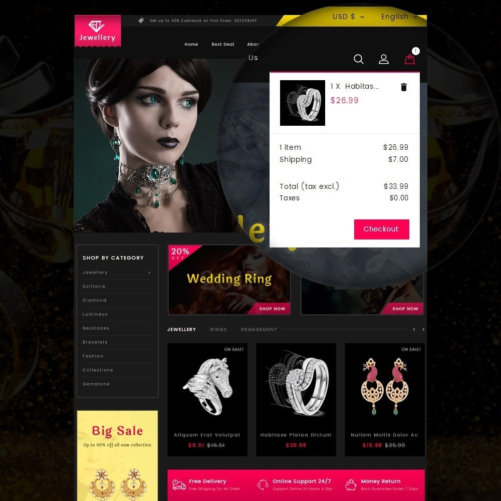 theme - Jewelry & Accessories - Jewelry Online Store - 7