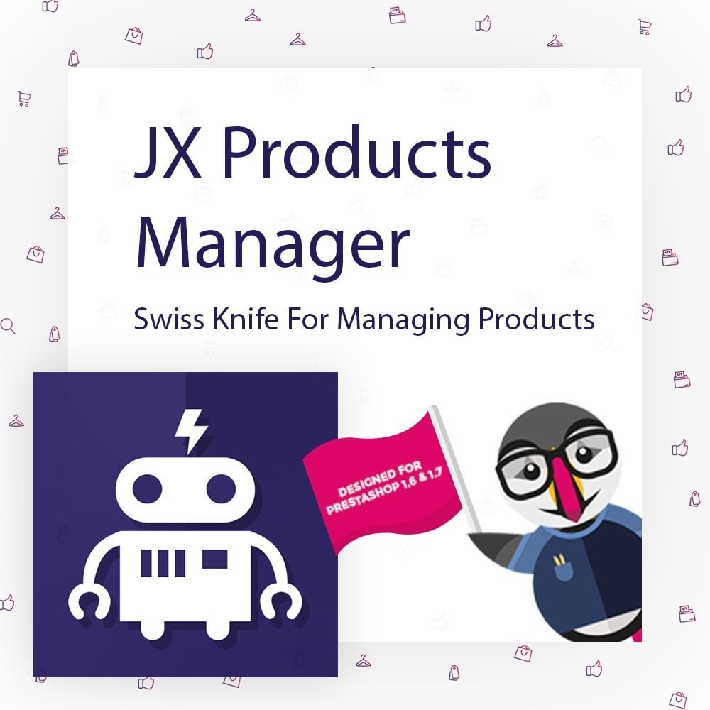 module - Edition rapide & Edition de masse - JX Products Manager - 1