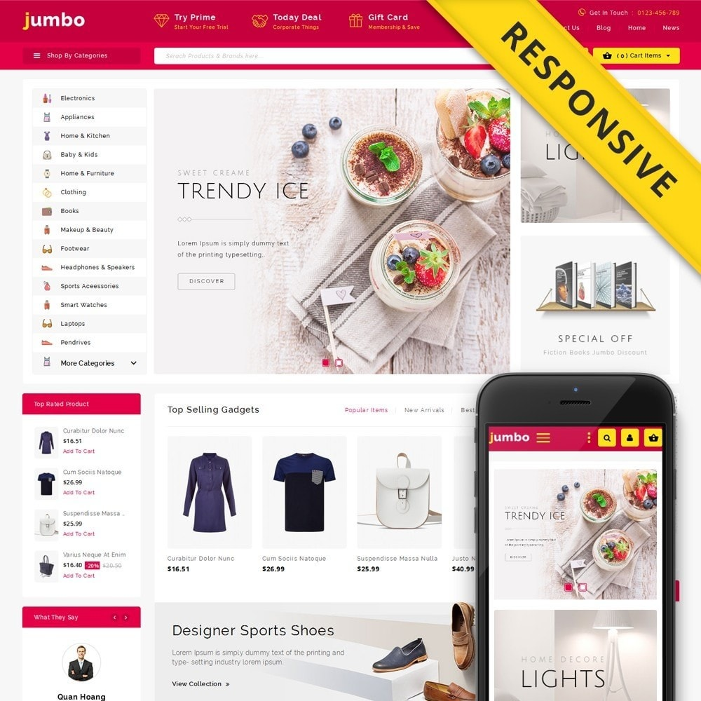 Jumbo Multi Purpose Store