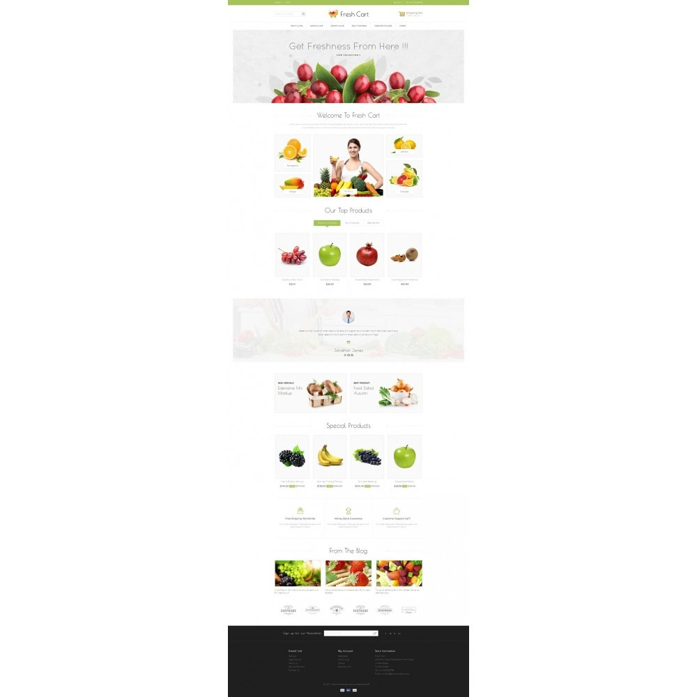 theme - Lebensmittel & Restaurants - Fresh Cart Food Store - 2