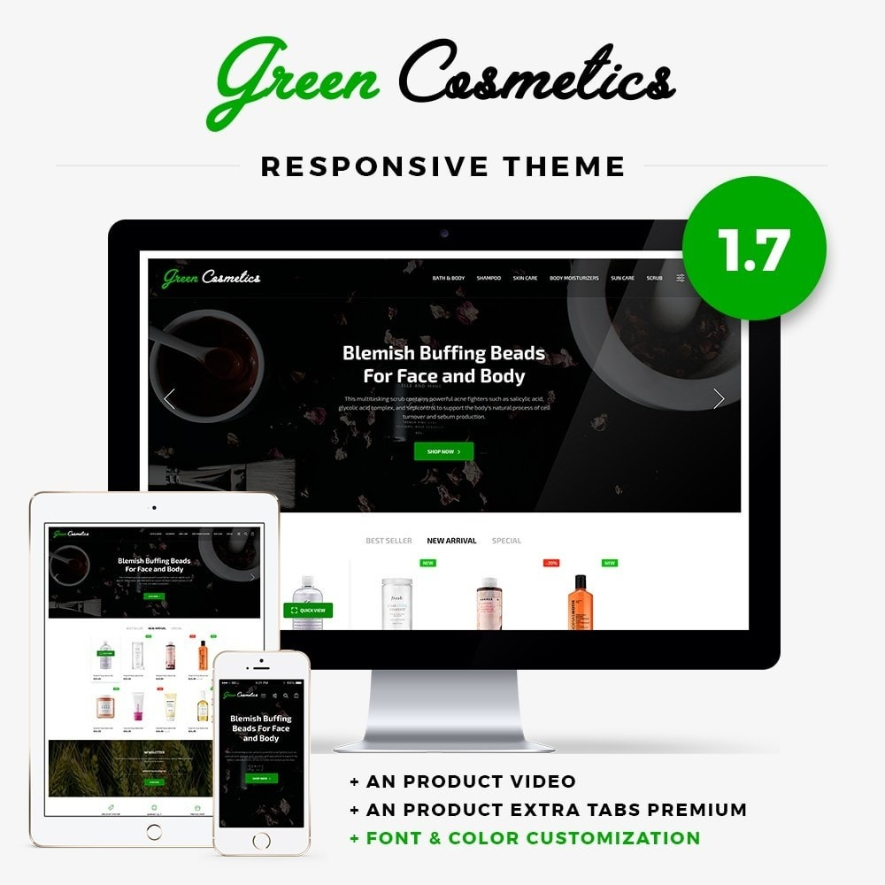 theme - Salute & Bellezza - Green Cosmetics - 1