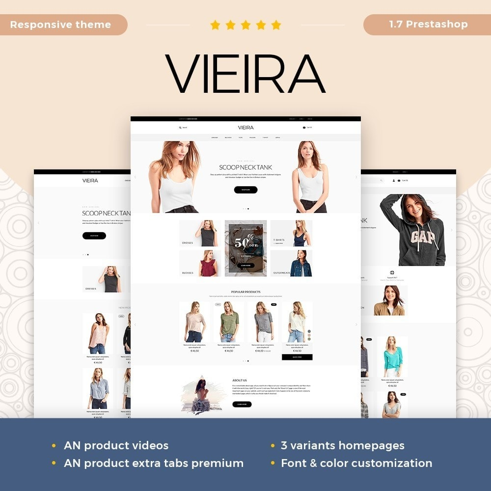 Vieira Fashion Store