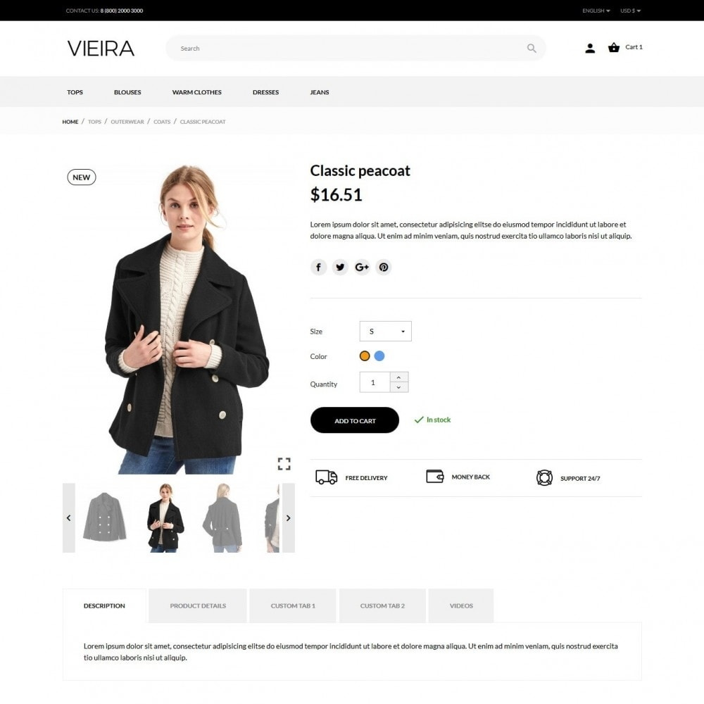theme - Fashion & Shoes - Vieira Fashion Store - 8