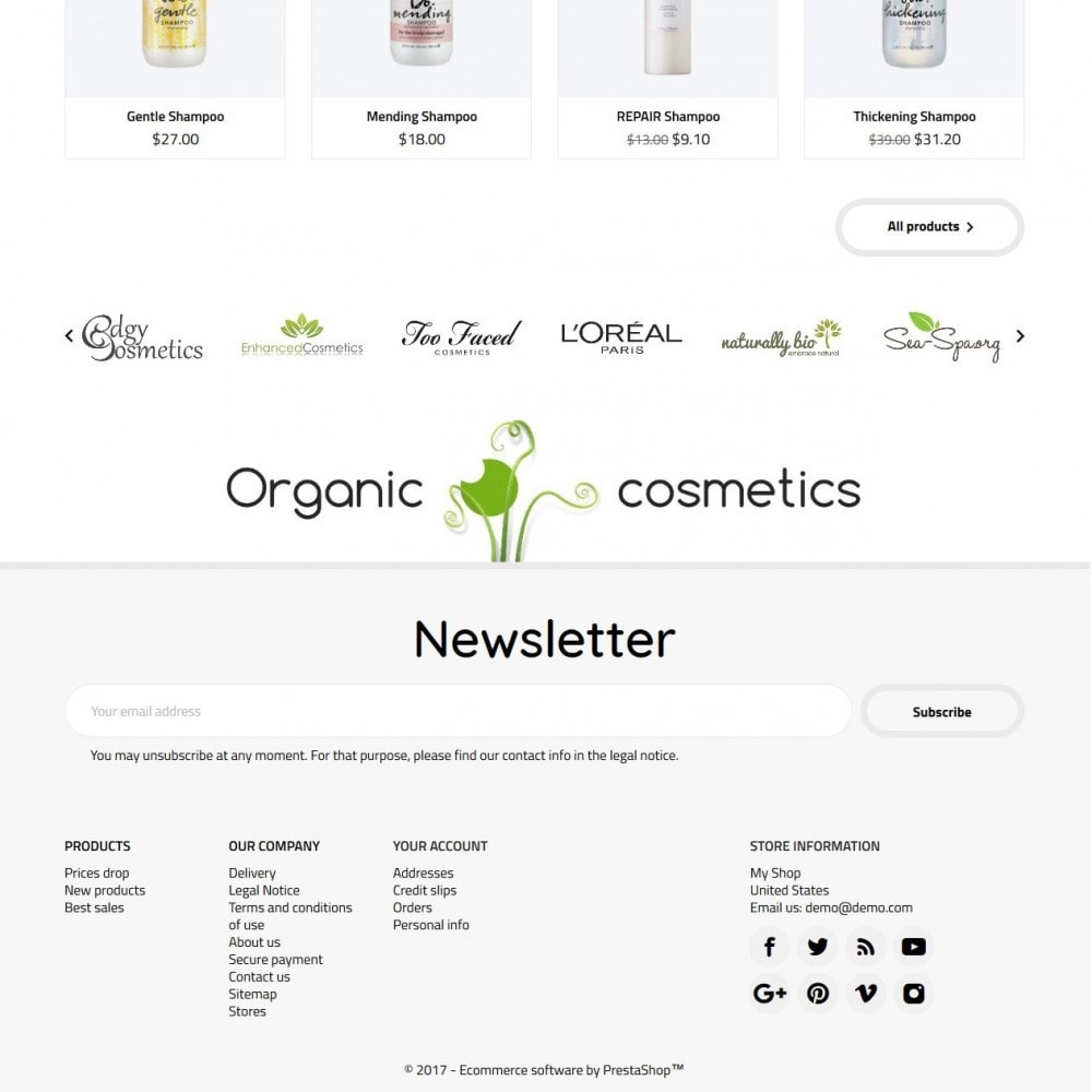 theme - Health & Beauty - Organic Cosmetics - 5