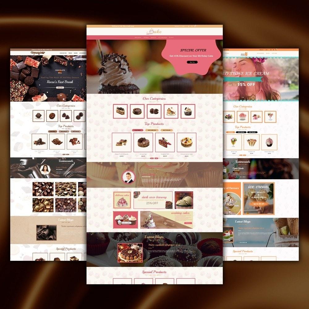 theme - Cibo & Ristorazione - Dessert Store - 2