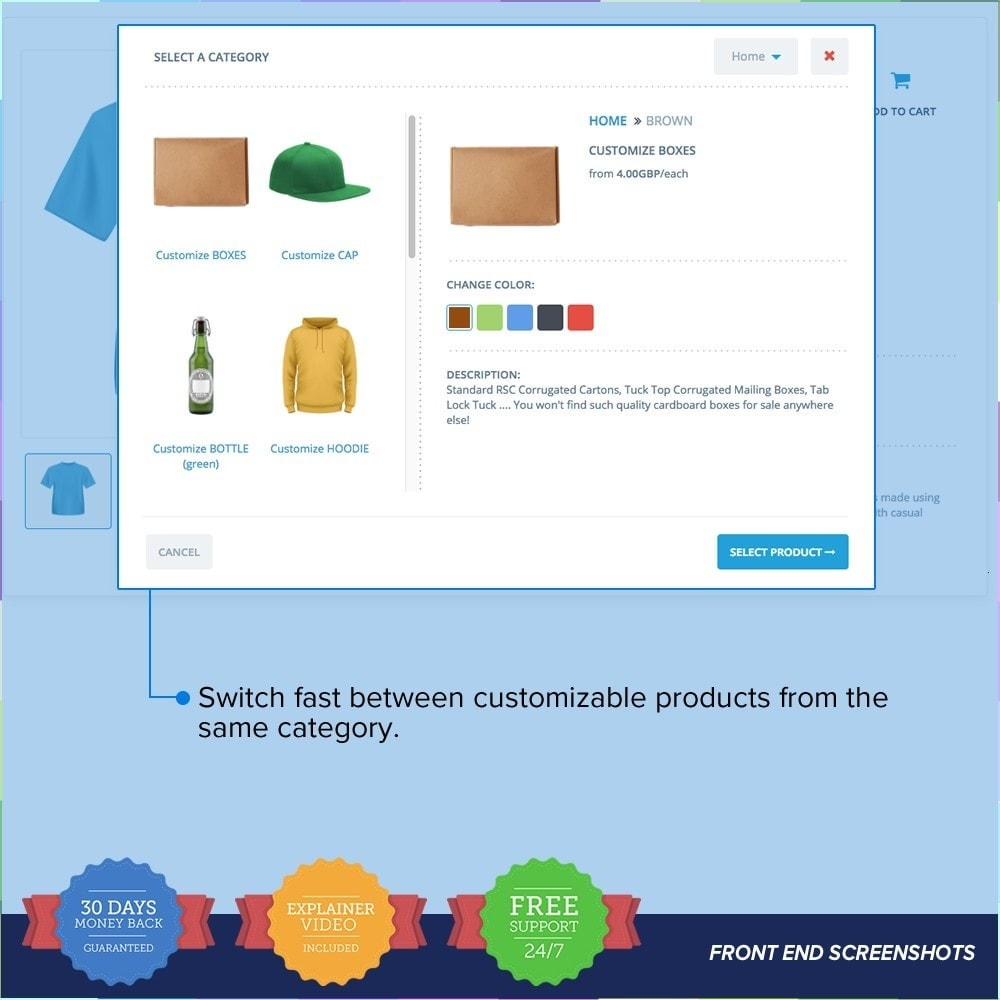 module - Combinations & Product Customization - Full Configurator PRO - Customize Any Product - 3