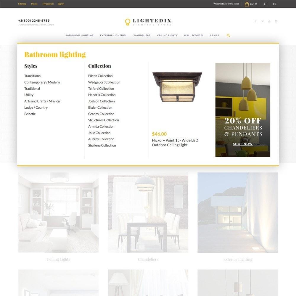 theme - Дом и сад - Lightedix - Lighting Store - 5
