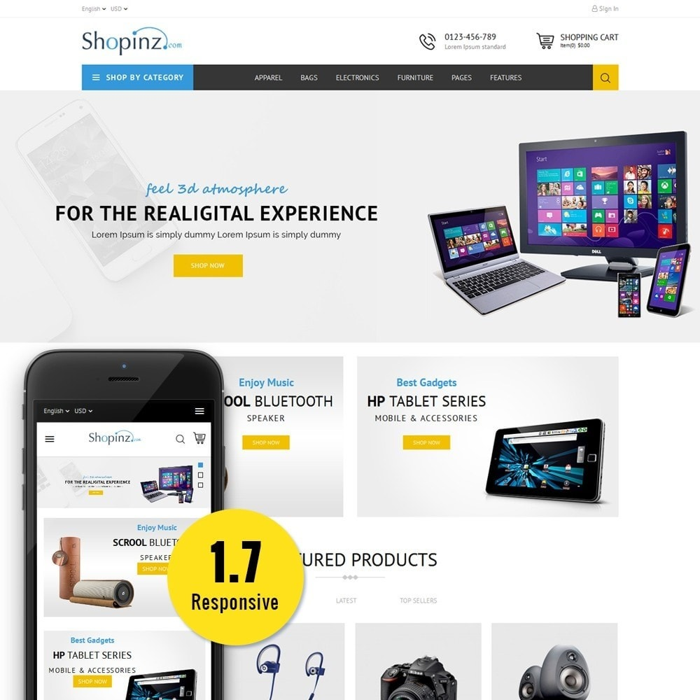 theme - Elettronica & High Tech - Electronic Store - 1