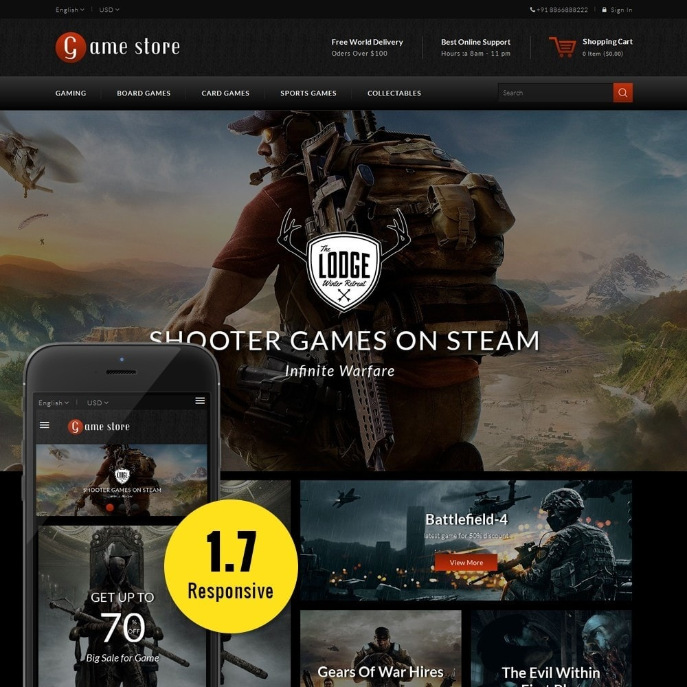 theme - Sports, Activities & Travel - GameStore - 1