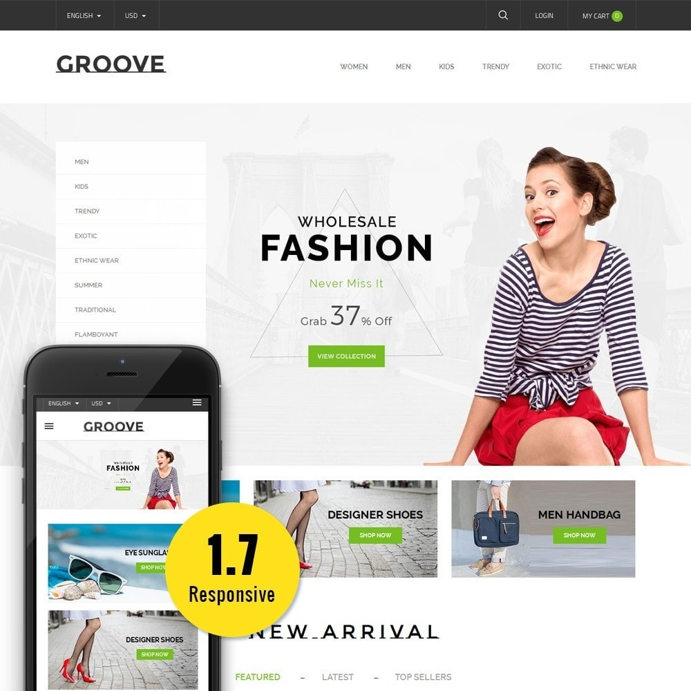 GrooveFashion Store