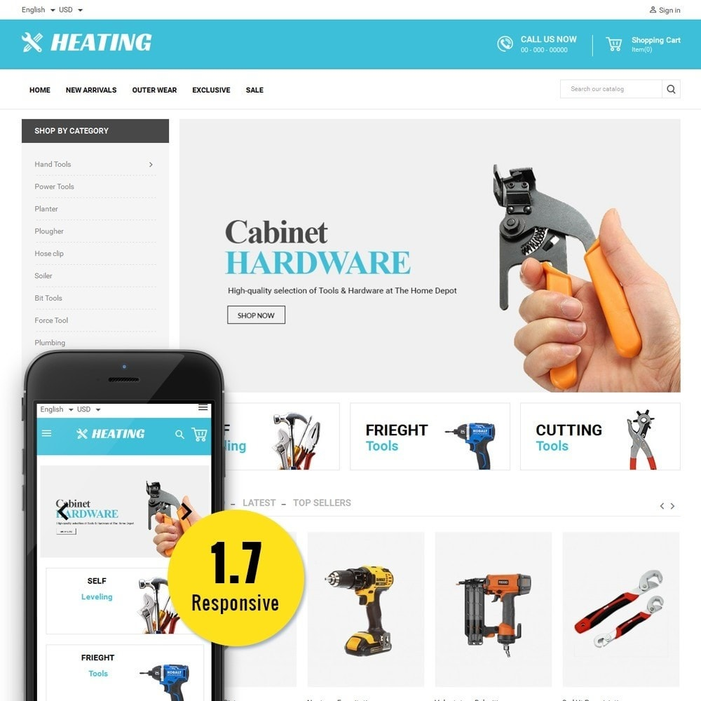 theme - Auto & Moto - HeatingTools - 1