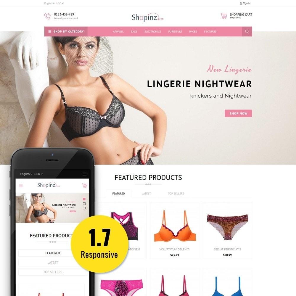 theme - Mode & Schoenen - Lingerie Store - 1
