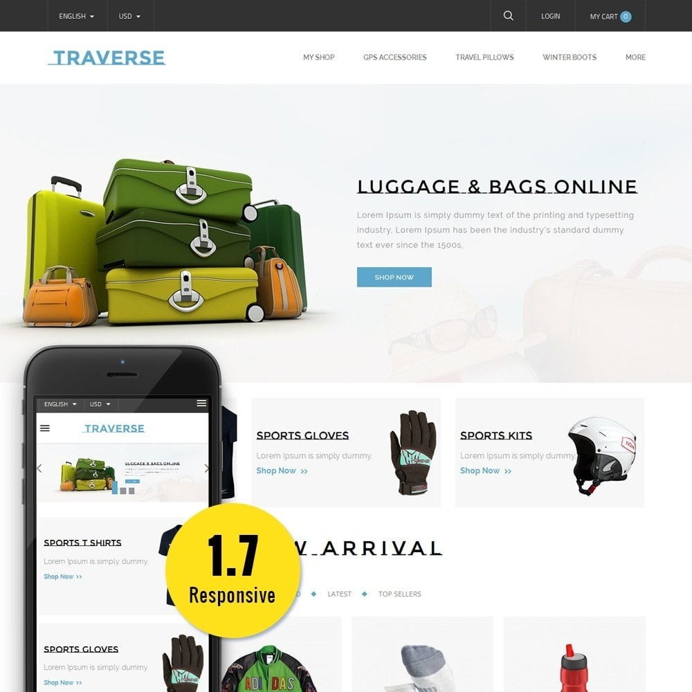theme - Sports, Activities & Travel - Traverse Store - 1