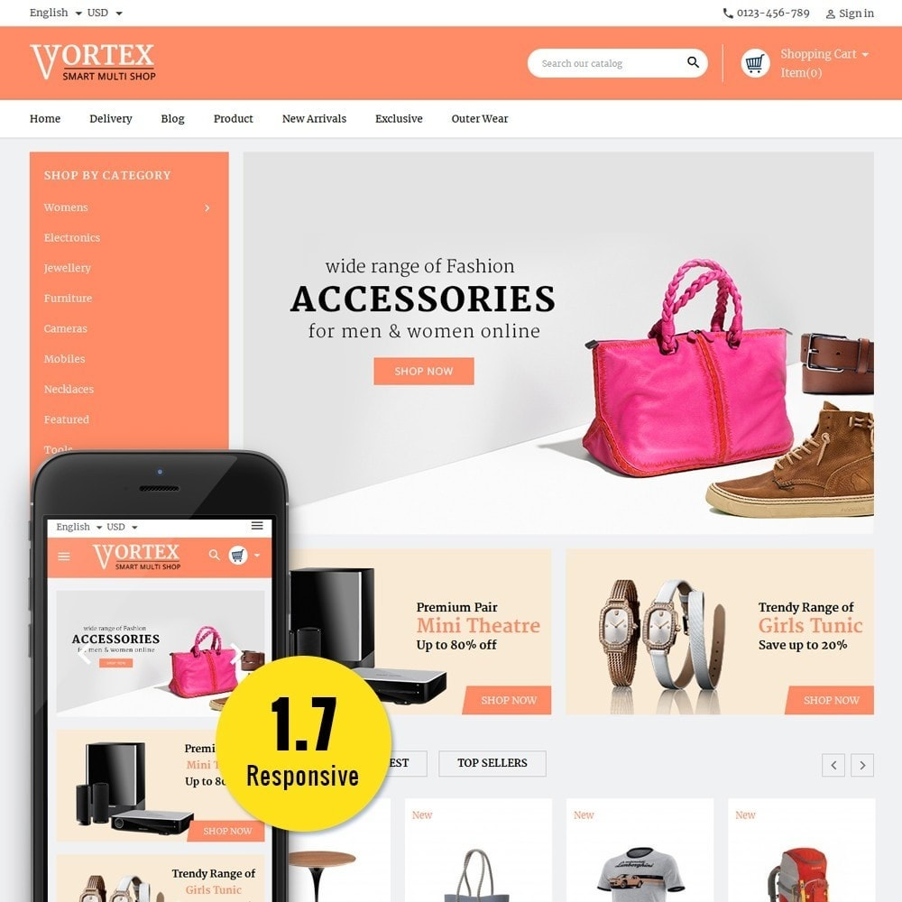 Vortex Smart Multishop
