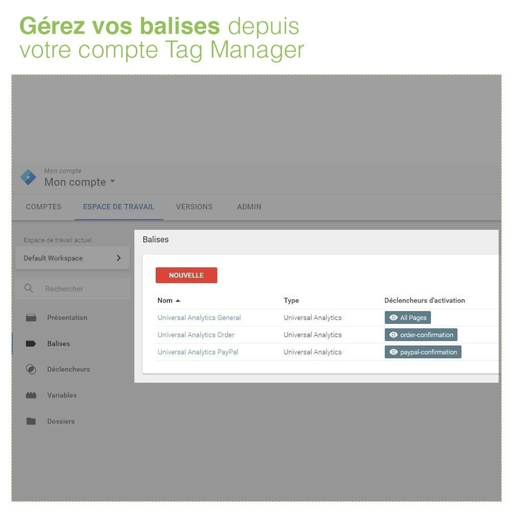 module - Analyses & Statistiques - Google Tag Manager - Gestionnaire de Balises - 6