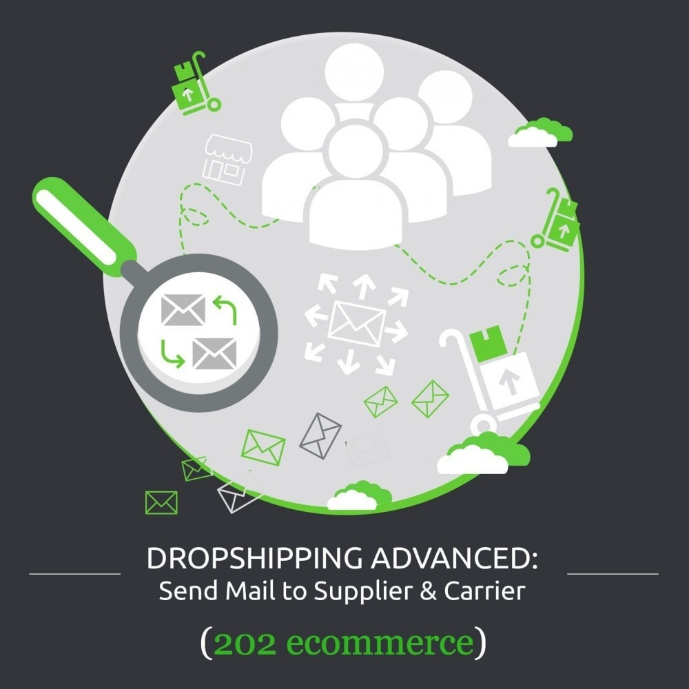 module - Dropshipping - Dropshipping Advanced: Send Mail to Supplier & Carrier - 1
