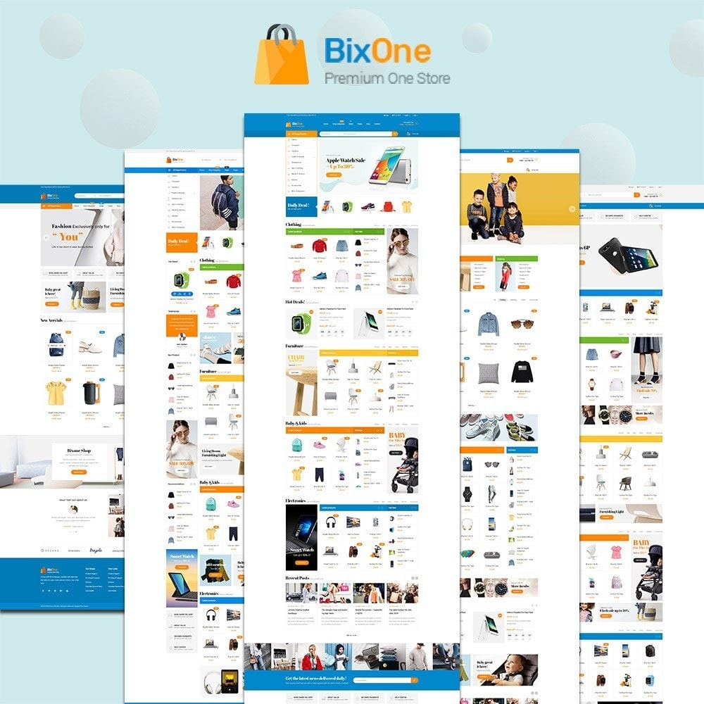 theme - Mode & Chaussures - Pts Bixone - 1