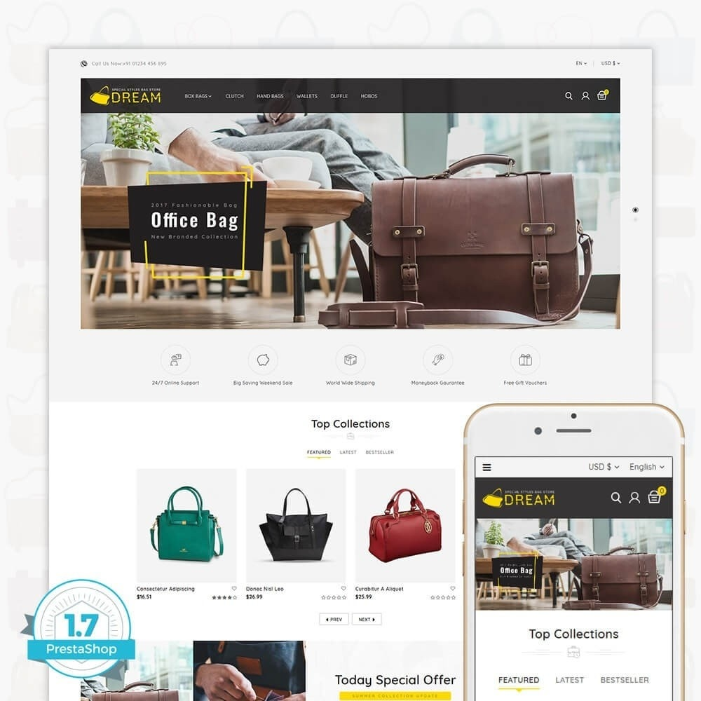 theme - Sports, Activities & Travel - Dream Bag Store - 1