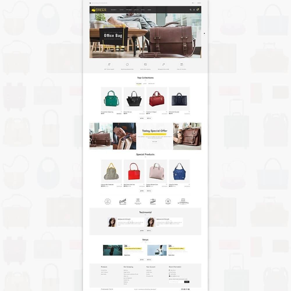 theme - Спорт и Путешествия - Dream Bag Store - 2
