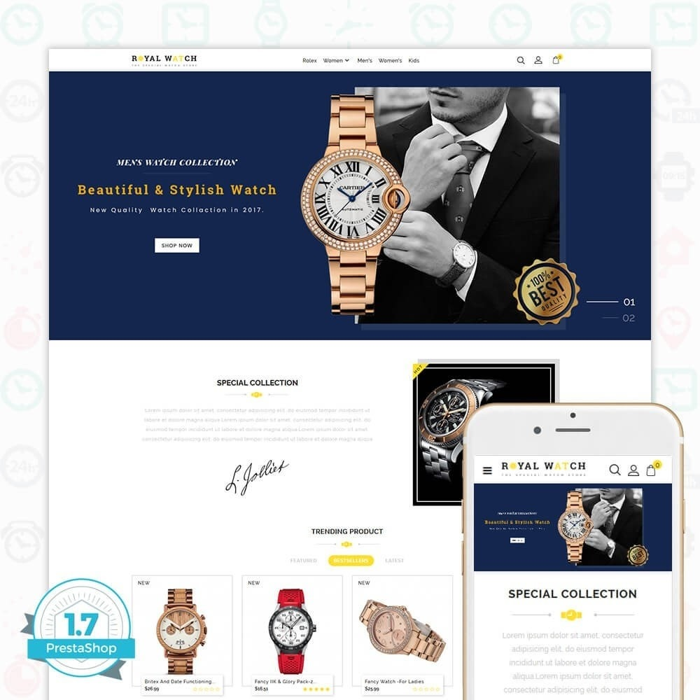 theme - Electronique & High Tech - Royal Watch - The Special Watch Store - 1