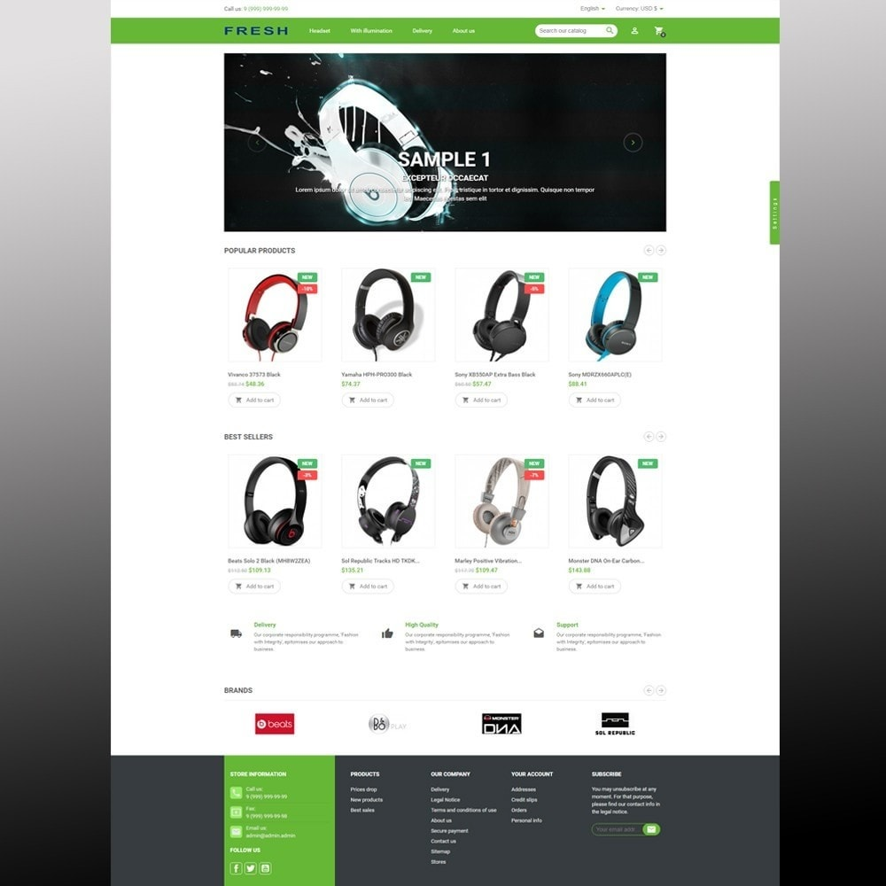 theme - Elektronika & High Tech - Fast Fresh electronics store - 12