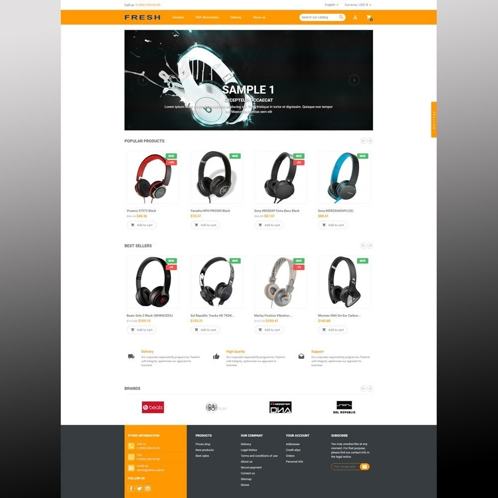 theme - Elektronika & High Tech - Fast Fresh electronics store - 17