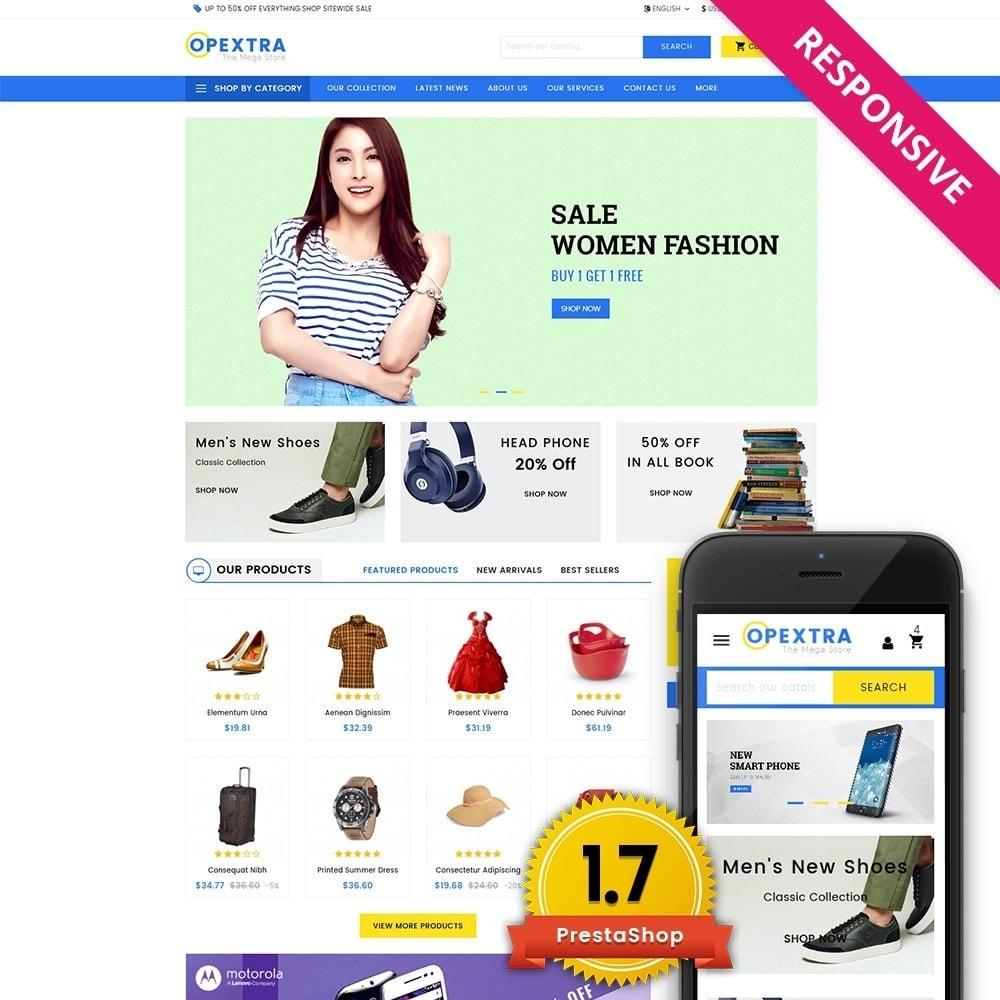 theme - Moda & Calzature - Opextra Mega Store - 1
