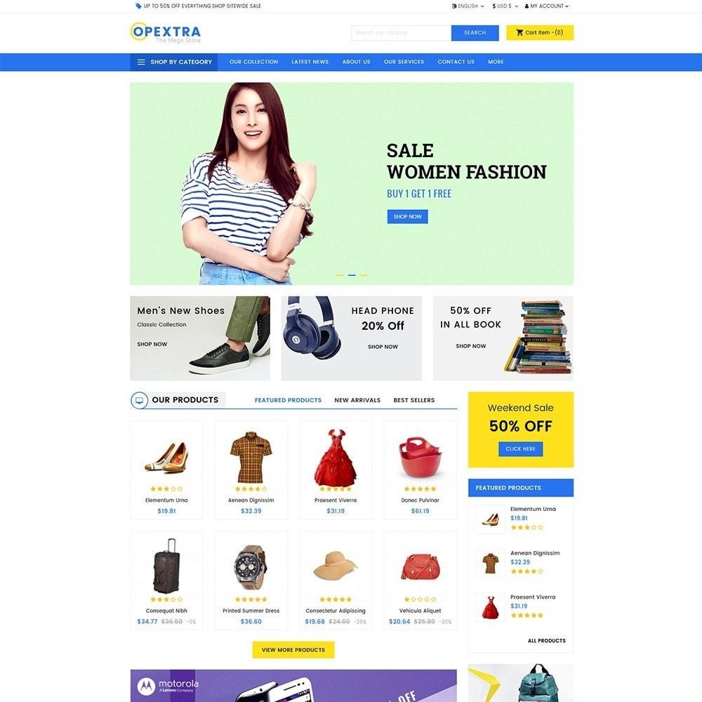 theme - Мода и обувь - Opextra Mega Store - 2