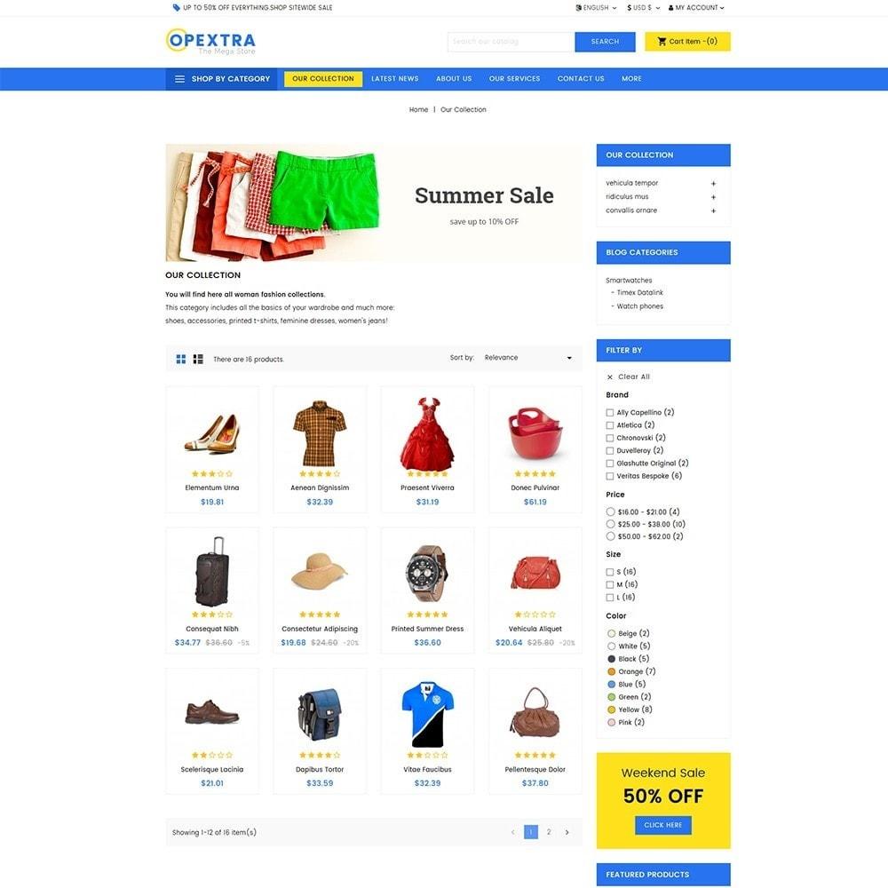 theme - Мода и обувь - Opextra Mega Store - 3
