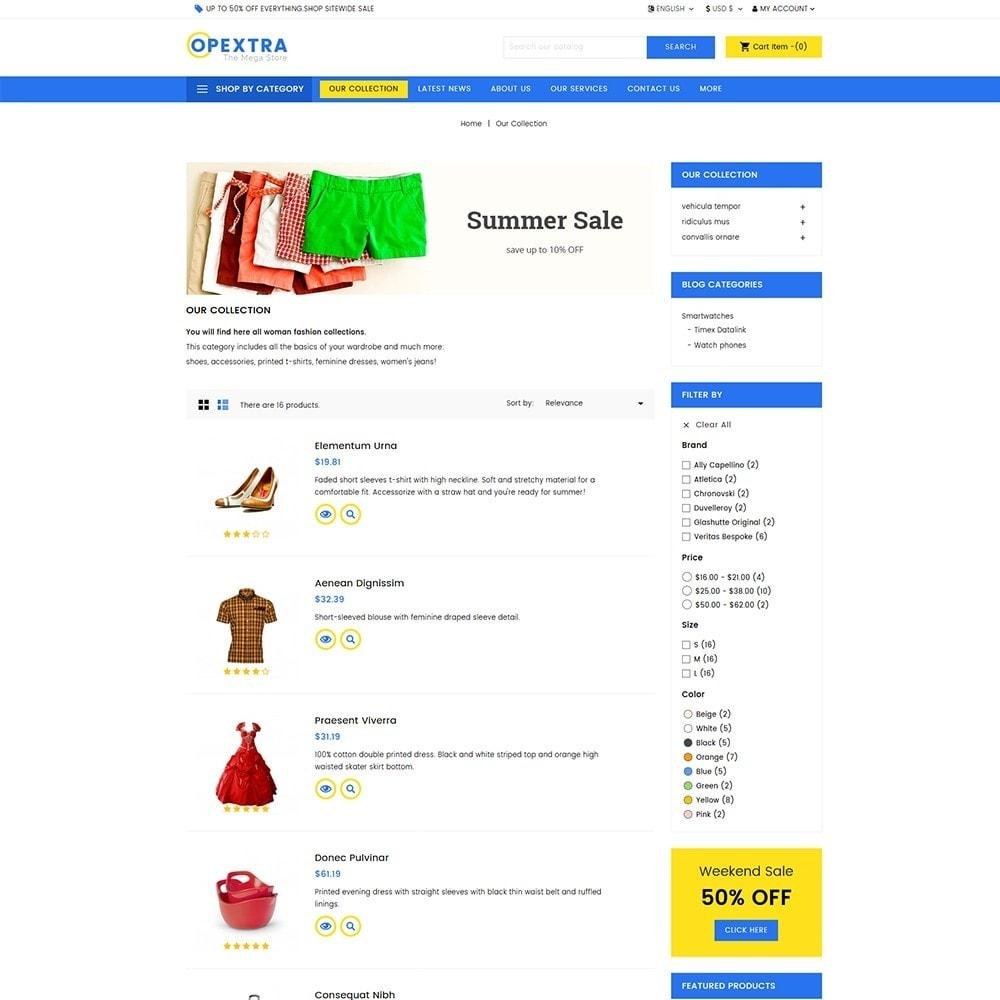 theme - Мода и обувь - Opextra Mega Store - 4