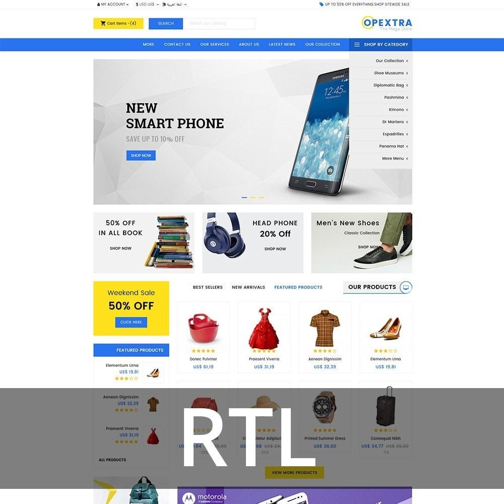 theme - Мода и обувь - Opextra Mega Store - 7