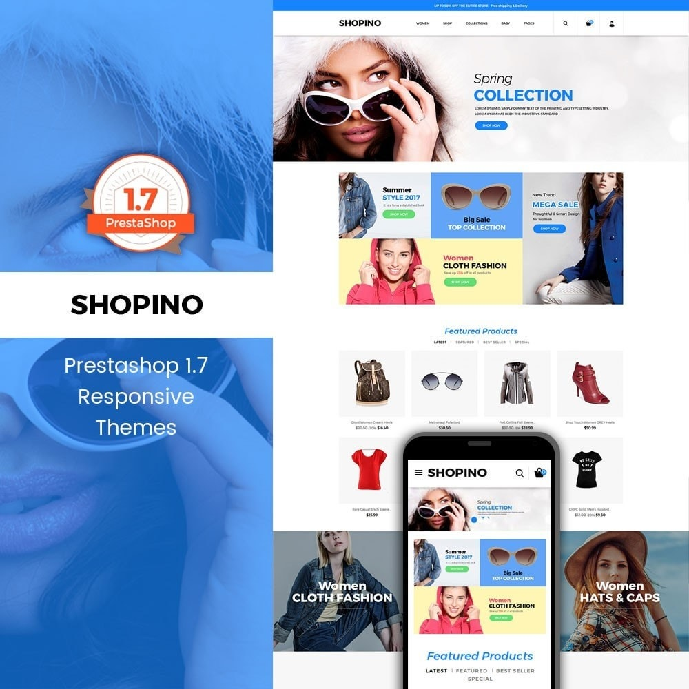 theme - Мода и обувь - Shopimo Fashion Store - 1