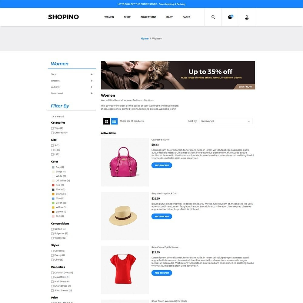 theme - Мода и обувь - Shopimo Fashion Store - 5