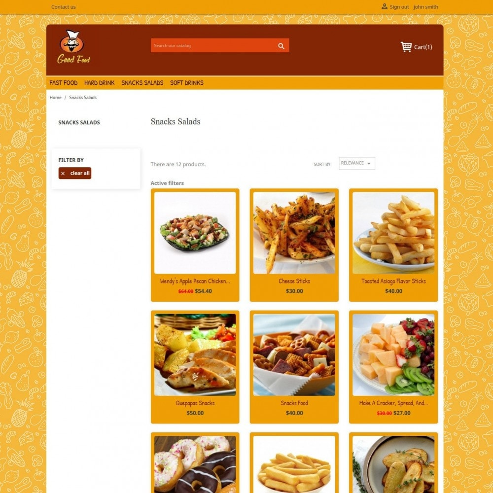 theme - Food & Restaurant - Good Food 2.0 - 3