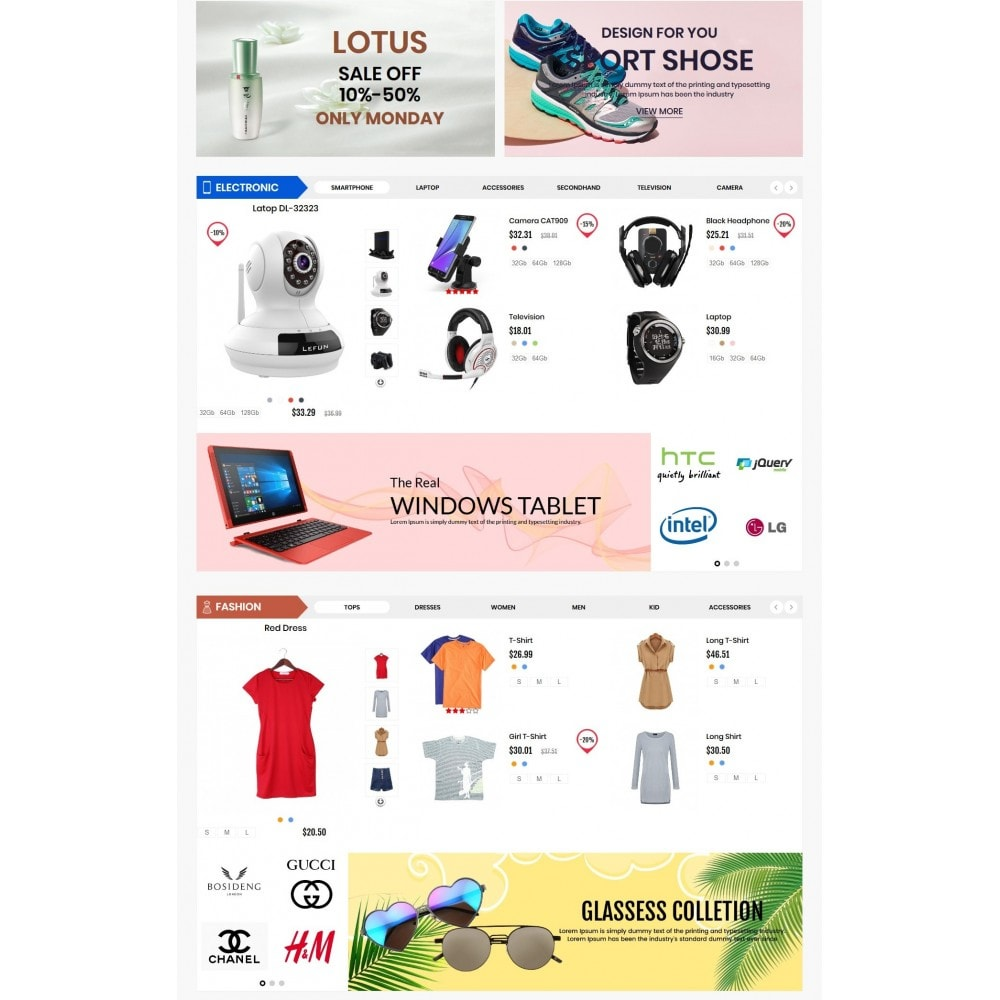 theme - Electronics & Computers - Emarket Super Electronic - 3