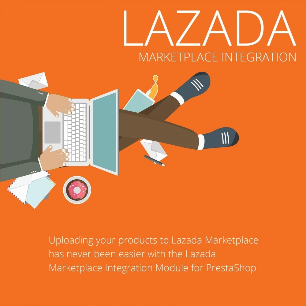 module - Platforma handlowa (marketplace) - Lazada Marketplace Integration - 2