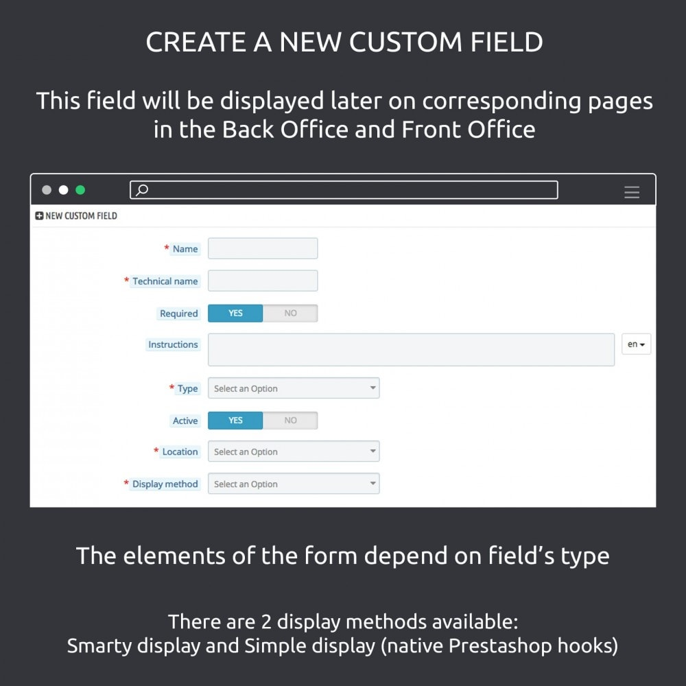 module - Bijkomende Informatie - Advanced Custom Fields : create new fields quickly - 3