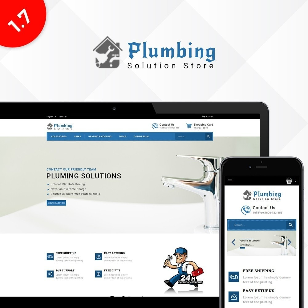 theme - Casa & Jardins - Plumbing Solution Store - 1