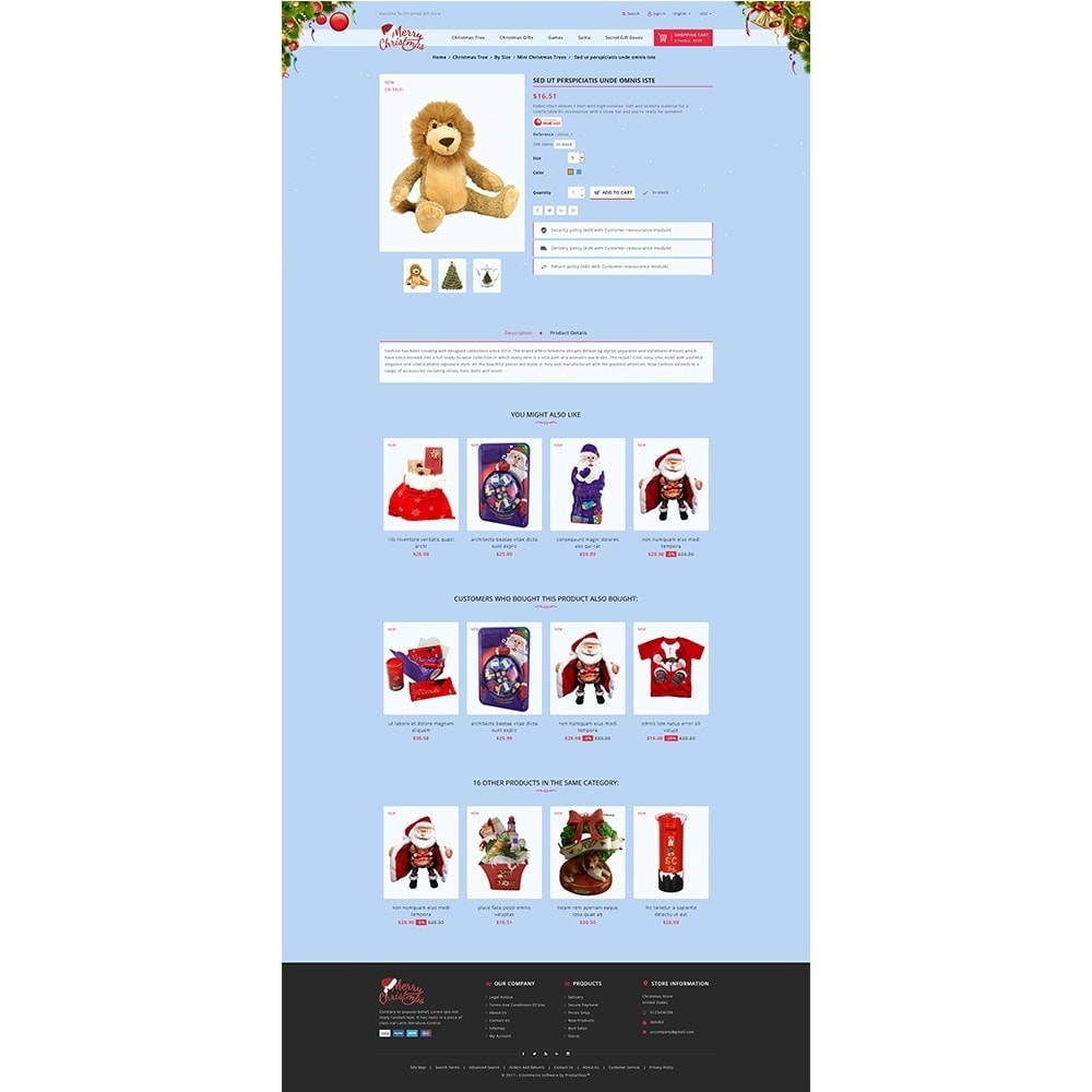 theme - Gifts, Flowers & Celebrations - Christmas Store - 5