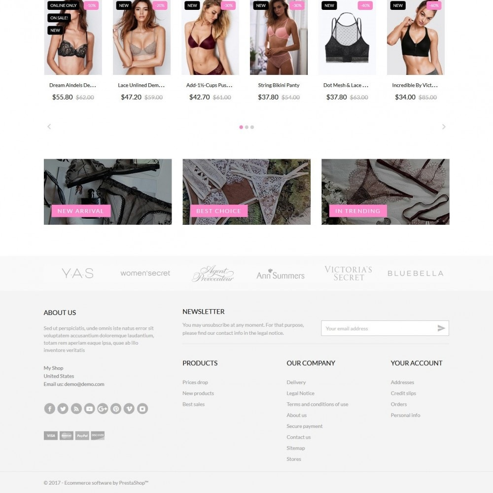 theme - Lingerie & Adultos - Atlantic Lingerie Shop - 4