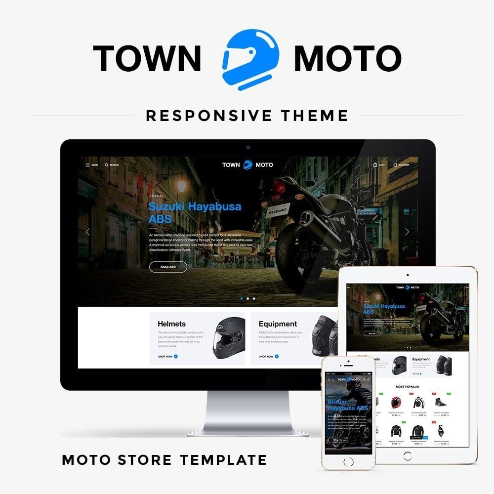 theme - Autos & Motorräder - Town Moto - 1